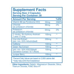katandadrol Supplement Facts